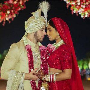 Photos : Priyanka Chopra et Nick Jonas, leur mariage de rêve façon Bollywood