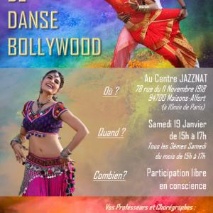 Stage Danse Indienne Bollywood – 19 janvier 2019
