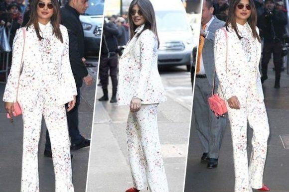 Priyanka Chopra : qui valide son look immaculé Ermanno Scervino ?